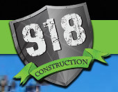 918 Construction logo