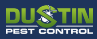 Dustin Pest Control logo
