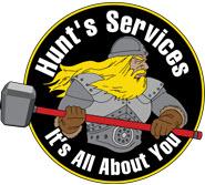 Hunt's Services logo